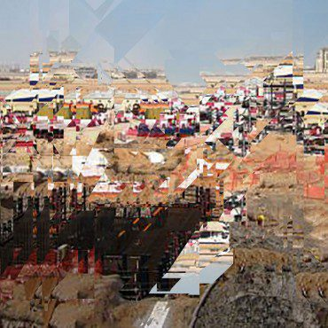 Masdar City Under Construction 2012